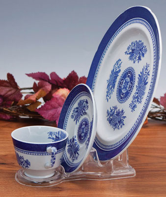 Dinnerware Stand Clear Plastic Lucite Cup Saucer and Plate Stands & Cup \u0026 Saucer Stands Platter Stands Bowl Stands \u0026 Dinnerware Place ...
