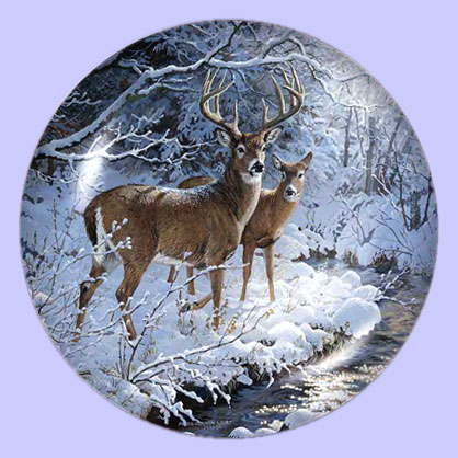 Wildlife Art: Picture Gallery of Wildlife Art Collectible Plates ...